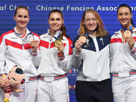 Дочь главы Олимпийского комитета России стала чемпионкой мира по фехтованию