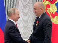 Путин вручил Черчесову орден, футболисты сборной России стали заслуженными мастерами спорта