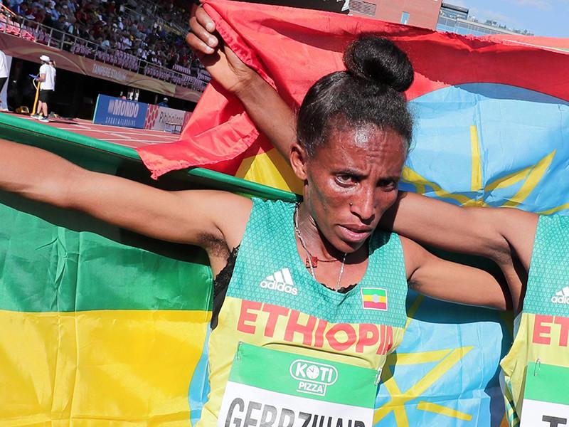 16-летняя эфиопская бегунья произвела фурор на чемпионате мира своей внешностью