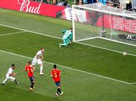 ЧМ-2018: Россия - Испания (хронология матча)