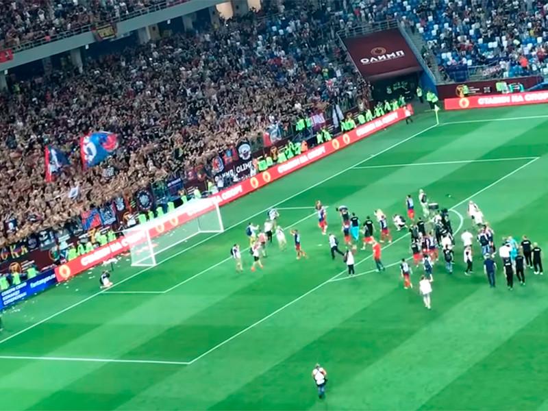 Футболисты ЦСКА стали обладателями Суперкубка страны