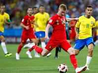 Бельгия выбила Бразилию из розыгрыша Кубка мира