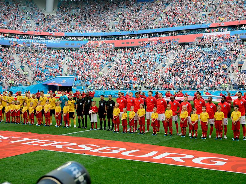В Санкт-Петербурге состоялся матч за третье место чемпионата мира по футболу, в котором встретились сборные Бельгии и Англии