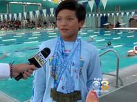 Десятилетний мальчик побил рекорд Майкла Фелпса на дистанции 100 метров баттерфляем