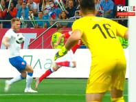 Сборная России по футболу разгромила чехов в контрольном матче