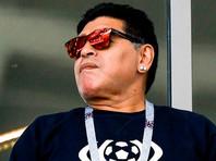 """Марадона прилетел в Мексику, где будет сотрудничать с клубом """"Дорадос де Синалоа"""""""