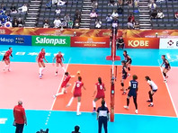 Россиянки продолжили победное шествие на чемпионате мира по волейболу