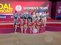 Российские гимнастки добыли серебро в командном турнире чемпионата мира
