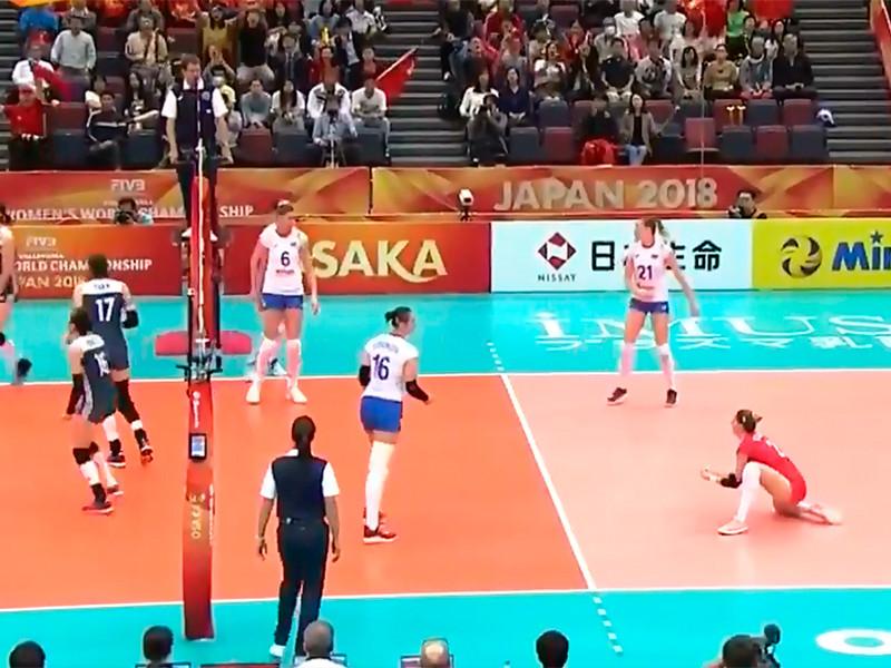 Российские волейболистки остались без медалей чемпионата мира