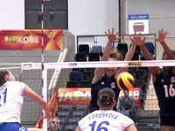 Сборная США нанесла россиянкам первое поражение на чемпионате мира по волейболу
