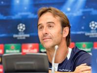 """Мадридский """"Реал"""" отправил в отставку главного тренера команды Хулена Лопетеги"""