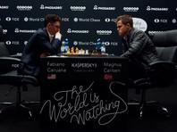 Норвежец Магнус Карлсен и американец Фабиано Каруана свели к ничьей четвертую подряд партию матча за титул чемпиона мира по шахматам, который проходит в эти дни Лондоне