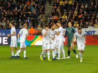 Шведские футболисты не пустили сборную России в элиту Лиги наций