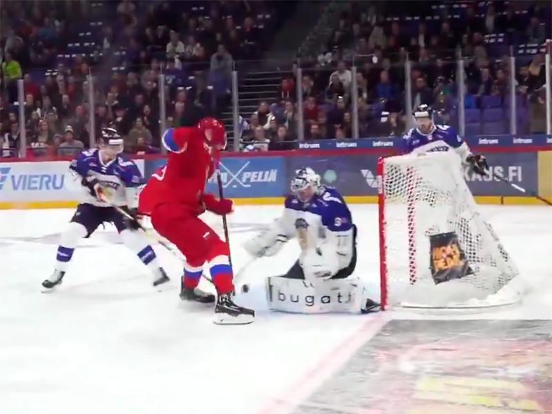 Сборная России по хоккею победно стартовала в Евротуре