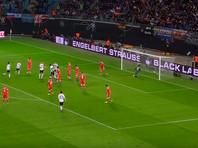 Российские футболисты крупно проиграли немцам в товарищеском матче