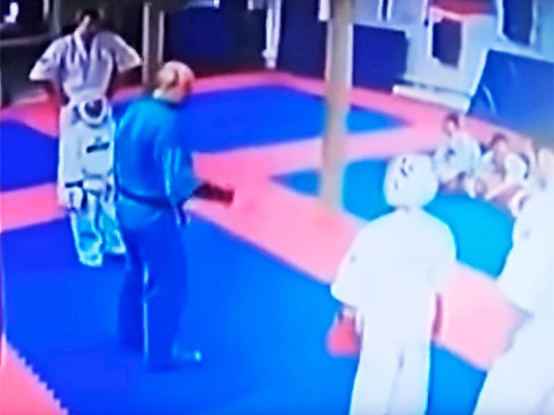 В Подмосковье завели дело на тренера, ударившего ребенка ногой по голове