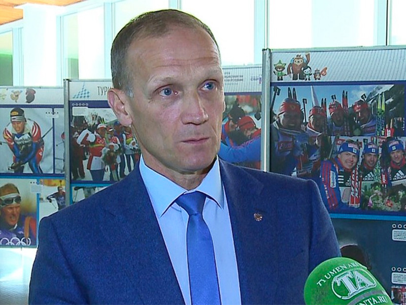 Глава Союза биатлонистов России (СБР) Владимир Драчев
