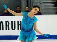 Евгения Медведева заявлена второй запасной на чемпионат Европы по фигурному катанию