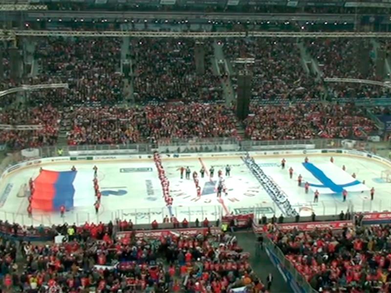 Сборная России со счетом 5:0 победила команду Финляндии в заключительном матче Кубка Первого канала по хоккею и во второй раз подряд стала победителем турнира