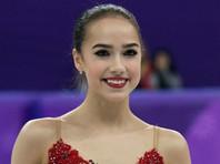 Алина Загитова выиграла короткую программу на чемпионате Европы по фигурному катанию