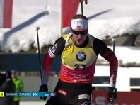 Норвежец Йоханнес Бе одержал десятую победу в Кубке мира по биатлону