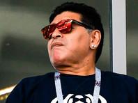 После кровотечения в желудке Марадона заявил, что помолодел почти на десять лет