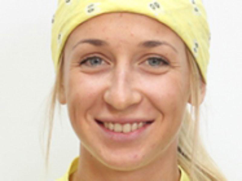 Бывшая российская биатлонистка Екатерина Аввакумова