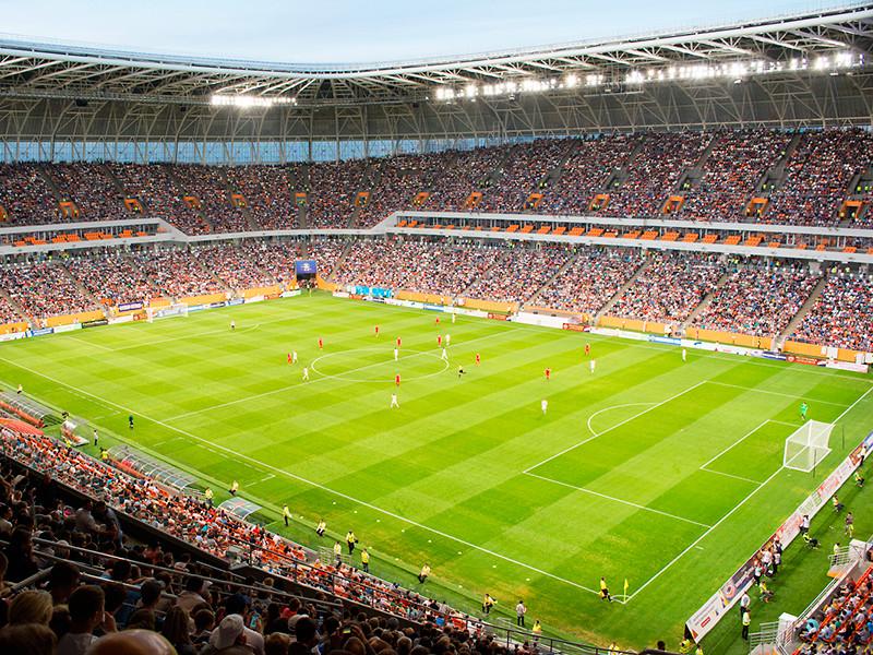 Четыре стадиона РФ вышли в финал конкурса на звание лучшей арены 2018 года