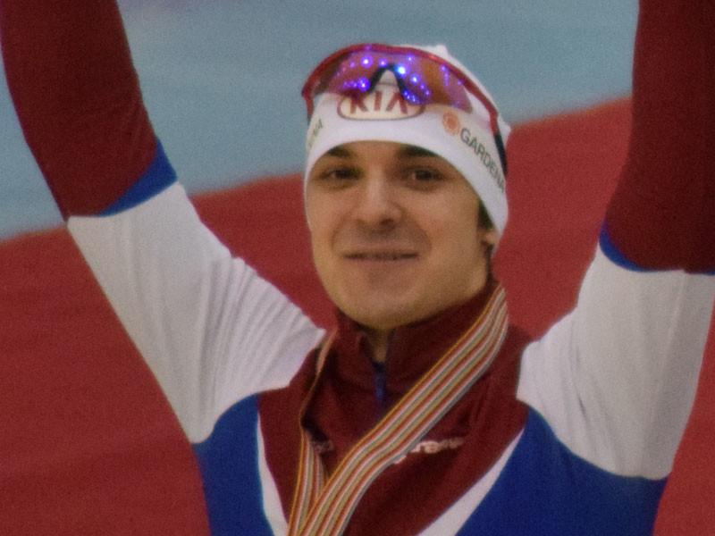 Чемпион мира по конькобежному спорту Руслан Мурашов
