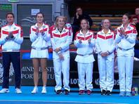 Теннисистки РФ сделали еще один шаг для возвращения в элиту Кубка Федерации