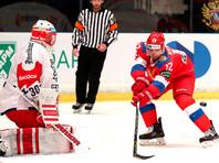 Российская сборная победила команду Чехии  в матче Шведских хоккейных игр