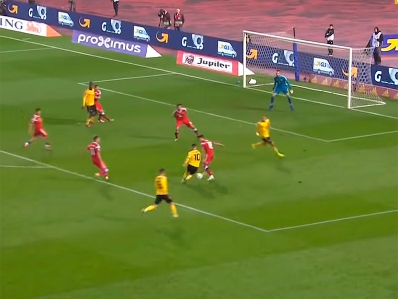 Российские футболисты проиграли бельгийцам на старте отборочного турнира Евро-2020
