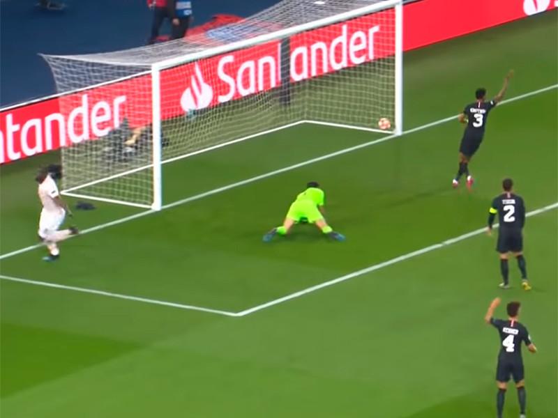 В Париже манкунианцы победили 3:1 и прошли дальше по правилу выездного гола