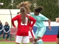 Капитана женской сборной России по футболу дисквалифицировали за драку со швейцаркой