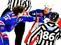 В Санкт-Петербурге СКА победил со счетом 3:2 ЦСКА в шестом матче полуфинальной серии Кубка Гагарина