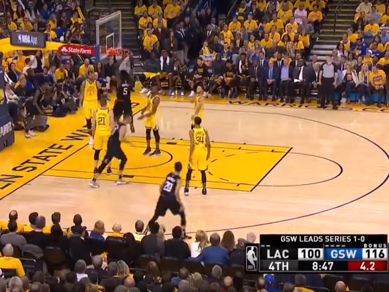 """Баскетболисты """"Клипперс"""" совершили рекордный камбэк в истории плей-офф НБА"""