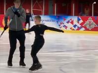 12-летний фигурист продемонстрировал пятерной прыжок при помощи удочки