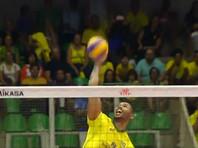 Российские волейболисты уступили бразильцам в Лиге наций