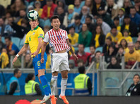 Бразильцы стали первыми полуфиналистами Кубка Америки, лишь в серии пенальти одолев Парагвай
