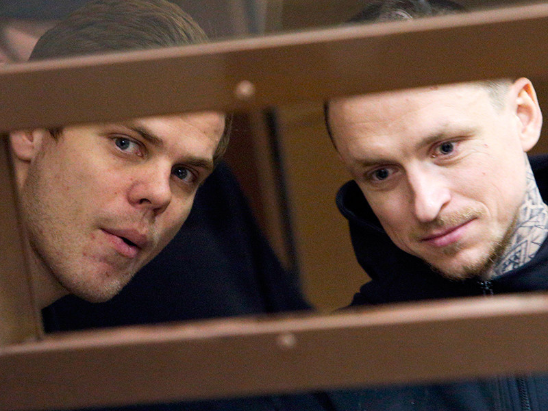 Александр Кокорин( на фото - слева) и Павел Мамаев