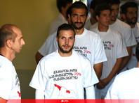 Грузинских футболистов не накажут за антироссийские лозунги
