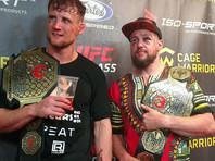 Поединок по правилам MMA остановили из-за большого количества крови