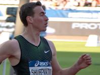 Бегун Сергей Шубенков в падении выиграл этап Бриллиантовой лиги
