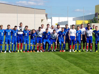 Сборная России по футболу в контрольном матче разгромила клуб ФНЛ
