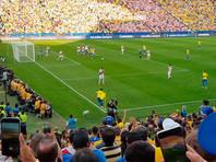 Бразильцы отправили пять безответных мячей в ворота перуанцев и вышли в плей-офф Кубка Америки