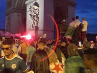 Алжирцы отпраздновали победу футбольной сборной погромами по всей Франции