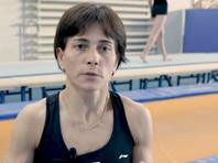 Советская гимнастка Чусовитина продолжает готовиться к своей восьмой Олимпиаде