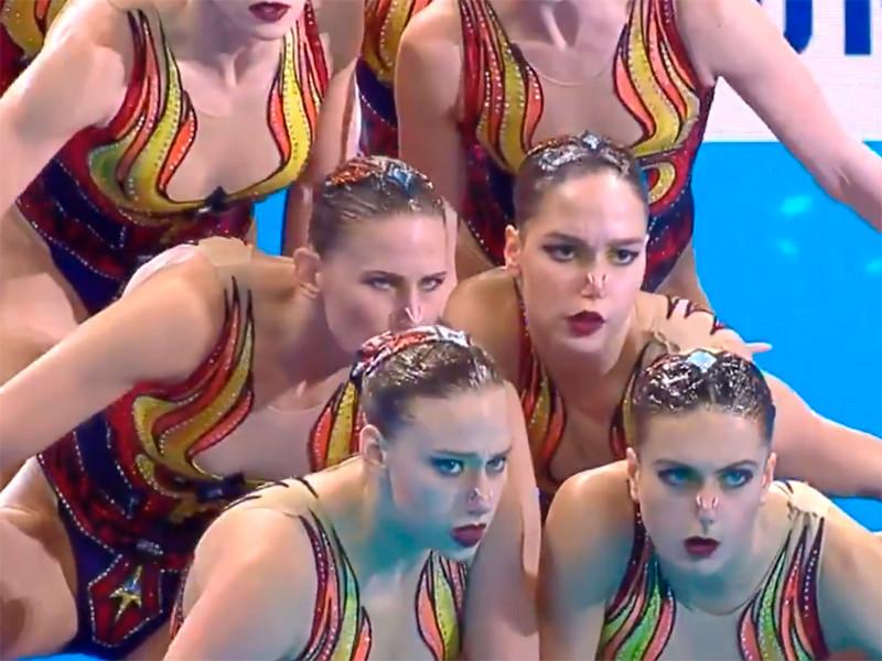 Российские синхронистки добыли седьмое золото на чемпионате мира в Кванджу