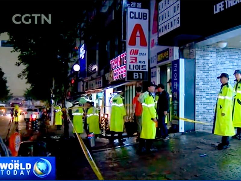При обрушении в ночном клубе пострадали восемь участников чемпионата мира