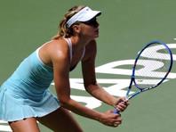 Шарапова преодолела первый раунд теннисного турнира в Цинциннати
